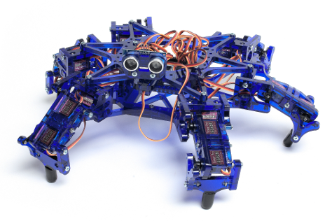 Hexy Hexapod Robot with OctoMY™ software